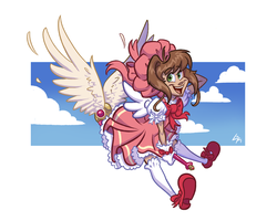 Card Captor Sakura by LarissaRivero