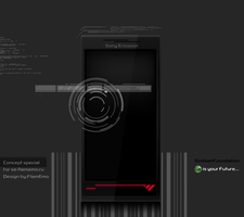 Sony Ericsson X4 by FlamEmo