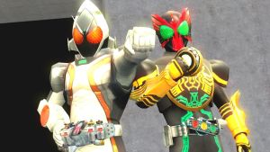 Megamax OOO and Fourze by dumbass333
