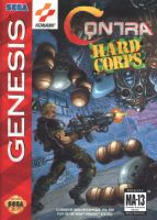 Contra: Hard Corps Front Cover by derrickthebarbaric