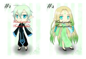 Chinese Elves Adoptables [CLOSED] by Natadoptables