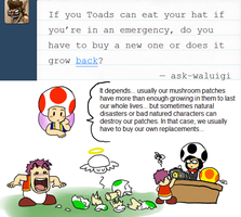 Ask Toad - Cap Replacement? by pocket-arsenal