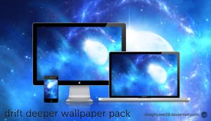 Drift Deeper Wallpaper Pack by dizzyflower28