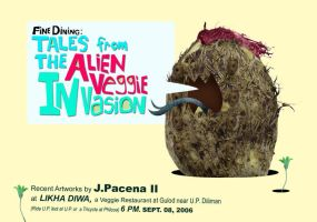 ALIEN VEGGIE Invasion by JPacena