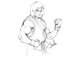 ken sketch by molee