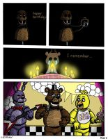 FNAF: Requiem with a Birthday Cake, page 6 by Negaduck9