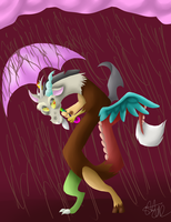 Discord chocolate rain by yorewolfdragon67