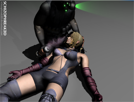 Nina Williams - Gassed! by Schizophreak3D
