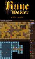 Rune Master graphic Roguelike by Nevanda