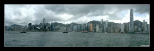 Panorama: Hong Kong by Insidious-Ink