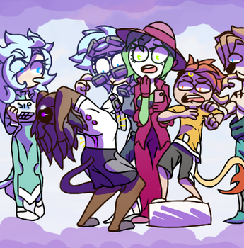 Don't dance, Old man (Draw the squad) by blacklessangel