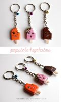 Popsicle Keychains by whitefrosty
