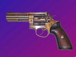 Ruger GP-100 by AbbyNormL