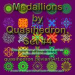QH-Medallions-Colorful-Set#004 by quasihedron