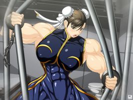 Strong Chun Li Bending by RENtb