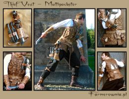 The Thief Vest - Multipocketer by farmer-bootoshysa