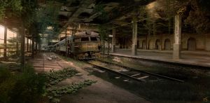 Abandoned Train Station 2 by Nacho3