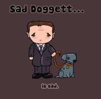 John Doggett Chibi by KazyKelly