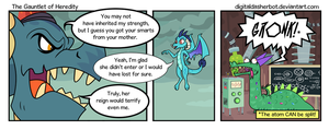 The Gauntlet of Heredity by DigitalDasherBot