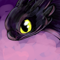 Toothless doodle thing by CavySpirit