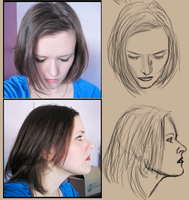 Face Studies by aomcesare