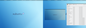 blue xubuntu by LovelyBacon