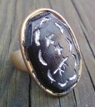 Signet ring from Wheel of time by blueeyedfreak