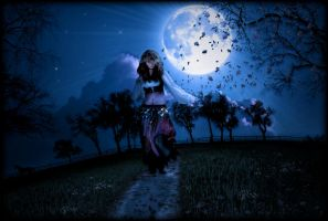 Under the Gypsy Moon by krissybdesigns
