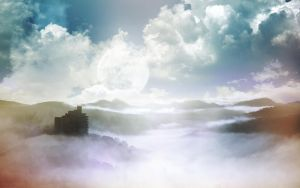 Over The Clouds Wallpack by emperaa