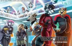 VF2017 - Collab Conbook Cover by Vancoufur