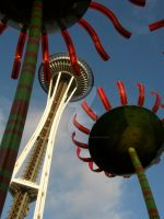 Sonic Bloom with the Space Needle by Sing-Down-The-Moon