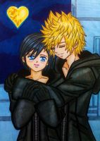 Roxas x Xion: Let me love you by dagga19