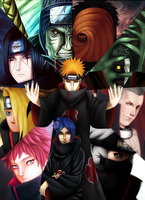 Akatsuki collab by Law67
