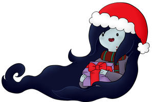 Marceline/ Christmas Time by AndiScissorhands