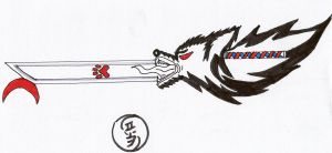 lycan king keyblade by Marrok-Milliardo