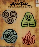 Avatar: TLA 4 Elements [Resource] by NickPolyarush