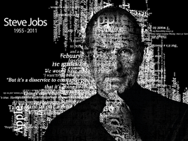 Steve Jobs Tribute by Zabelon