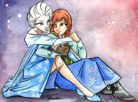 Do you wanna build a snowman? by jsheaisaninja