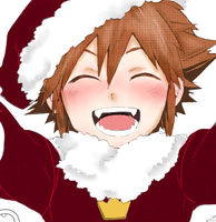 Santa sora by Penguin-Drumz
