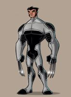Wolverine Redesign- X-Force by payno0