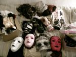 Lamollesse's masks by Lamollesse