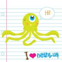 I love Octopus by manriquez
