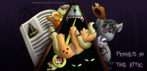 Ponies in the Attic by Digoraccoon