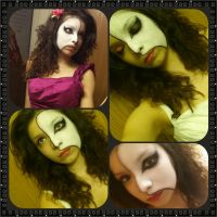 Phantom of the Opera Inspired Makeup by KrysCosplay