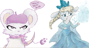 iscribble with lamy by Candehh