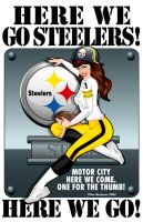 Here We Go STEELERS by yankeedog