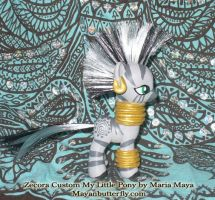 Zecora Zebra Custom My Little Pony G4 II by mayanbutterfly