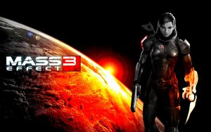 Earth in Peril - Mass Effect 3 by spongeybab