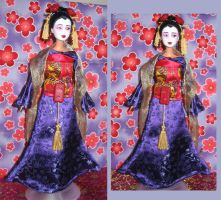 Chinese Princess ooak doll by prettysewingmachine
