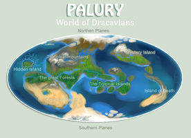 Palury_World of Dracavians by griffsnuff